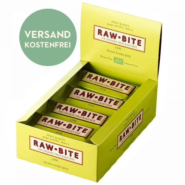 RAWBITE Spicy Lime Box